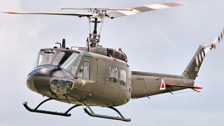 26 Kasım'daki kazada da UH-1 tipi helikopter düşmüştü