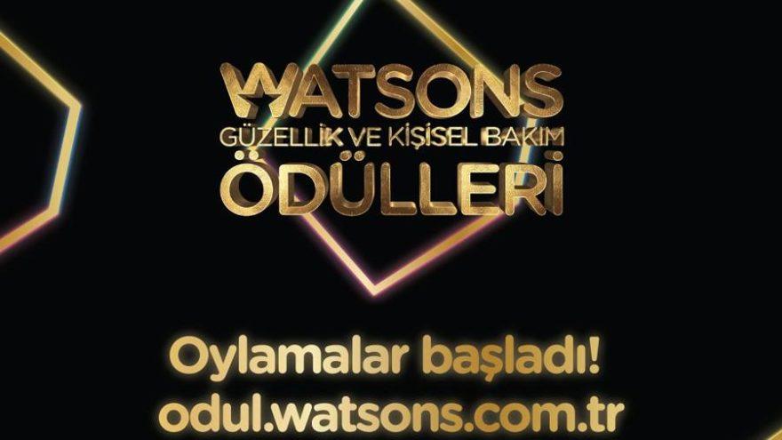 5. Watsons Güzellik ve Kişisel Bakım Ödülleri için oylamalar devam ediyor