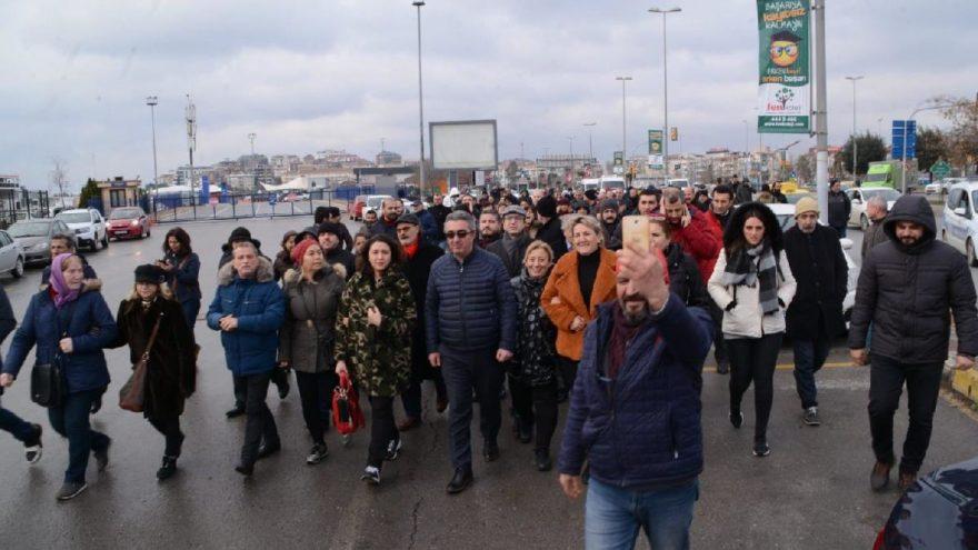 CHP Maltepe üyeleri Ankara'ya yürüyor