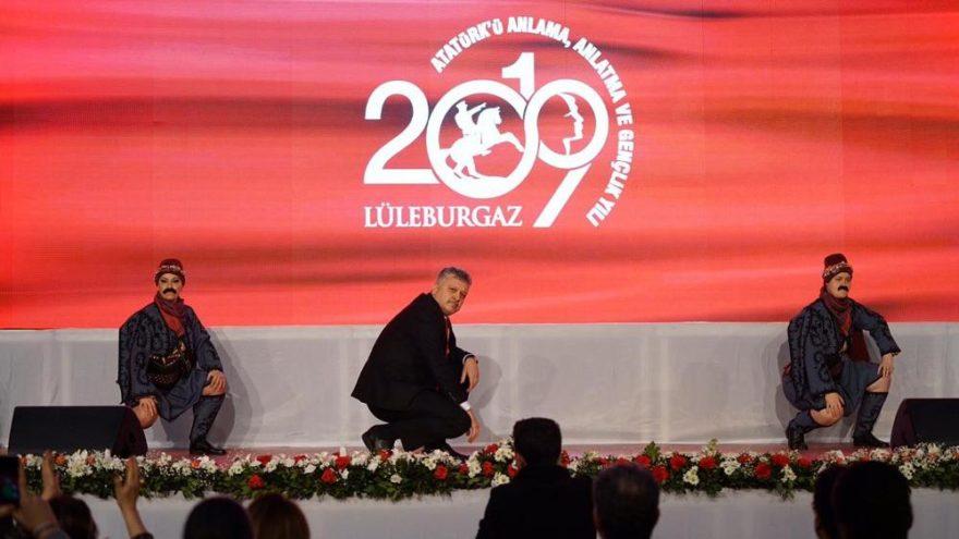 Başkan Gerenli'den Atatürk'e Zeybek İthafı