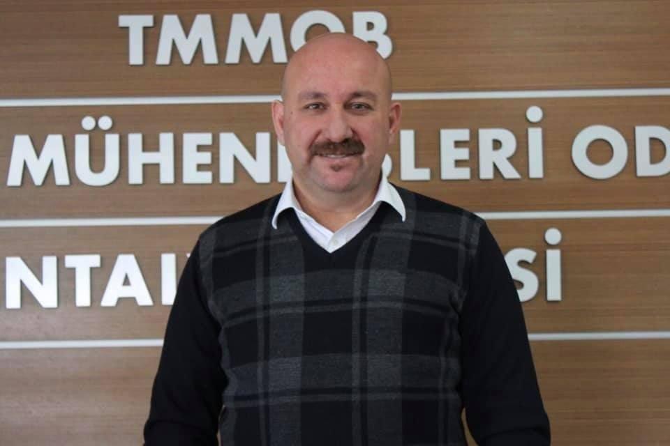 Ziraat Mühendisleri Odası Antalya Şube Başkanı Vural Şahin
