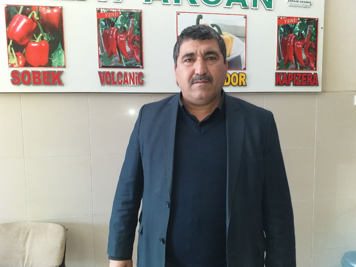 Antalya Yaş Meyve ve Sebze Komisyoncuları Derneği Başkanı Nevzat Akcan