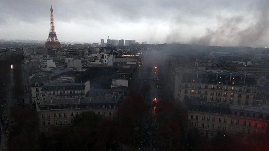 Fransa'da sarı yelek gösterileri 20. haftasında
