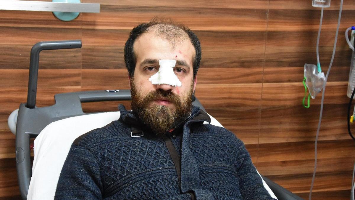 'Hastayı görmeden ilaç yazamam' dedi. 10 kişi dövdü