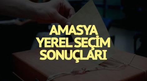 31 Mart Yerel Seçim Amasya sonuçları belli oldu: Amasya'nın yerel seçim sonuçları, partilerin oy oranları...