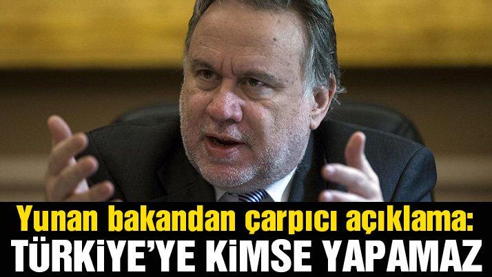 Yunan bakandan Türkiye çıkışı: Kimse dışlayamaz
