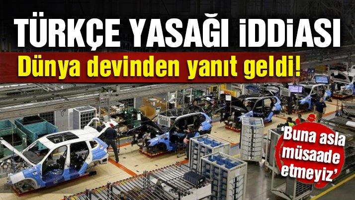 Son dakika: BMW Türkçe yasağı iddialarını yalanladı