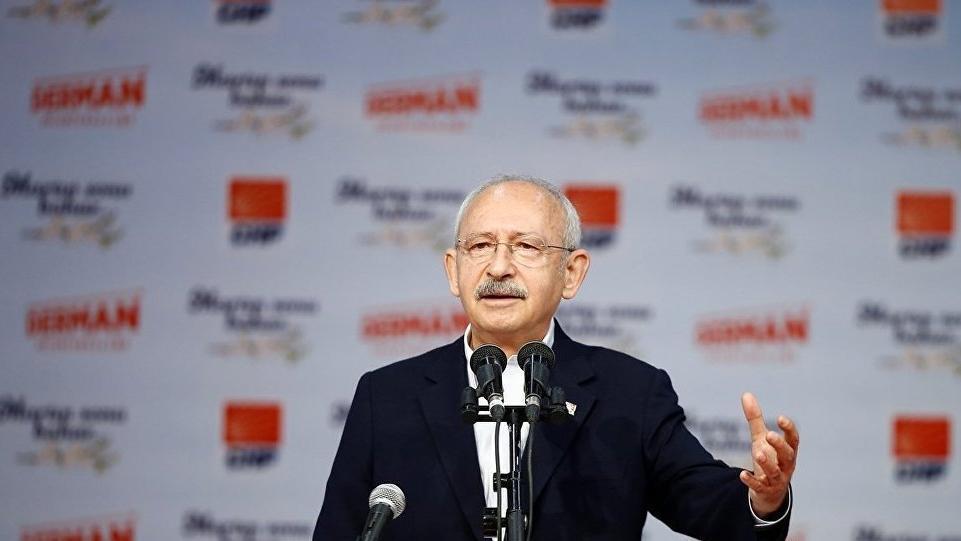 Kılıçdaroğlu ve Karamollaoğlu, Tez-Koop-İş Sendikası Genel Kurulu'nda konuştu