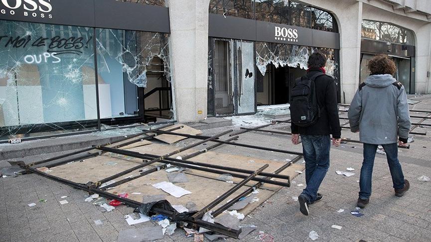 Son dakika: Fransa, Sarı Yeleklilerin eylemlerini yasaklıyor