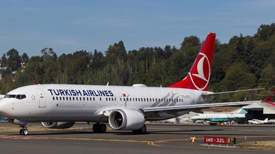 THY Boeing 737 MAX'leri havalimanına park etti