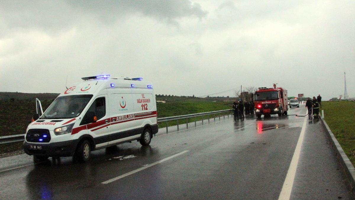 Gaziantep'te aynı yerde peş peşe kaza: 1 ölü, 21 yaralı