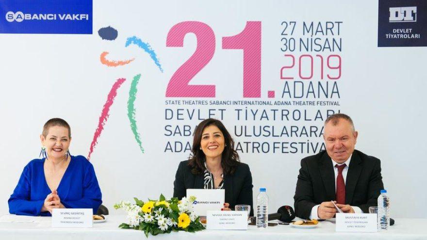 Adana Tiyatro Festivali başlıyor