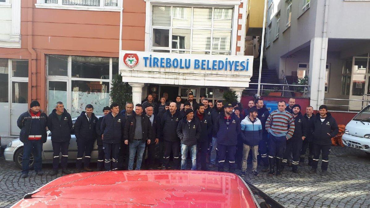 AKP'li belediyede işçi eylemi: 5 aydır maaş alamıyoruz