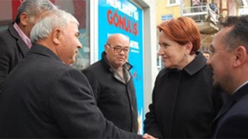 Akşener'den AKP'ye sürpriz ziyaret!