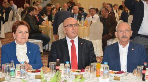 Kılıçdaroğlu ve Akşener Balıkesir'deydi