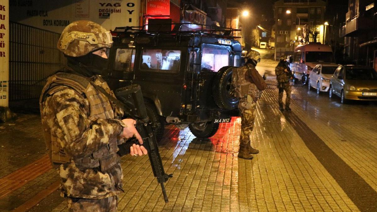 İstanbul'da şafak operasyonu: Çok sayıda gözaltı var