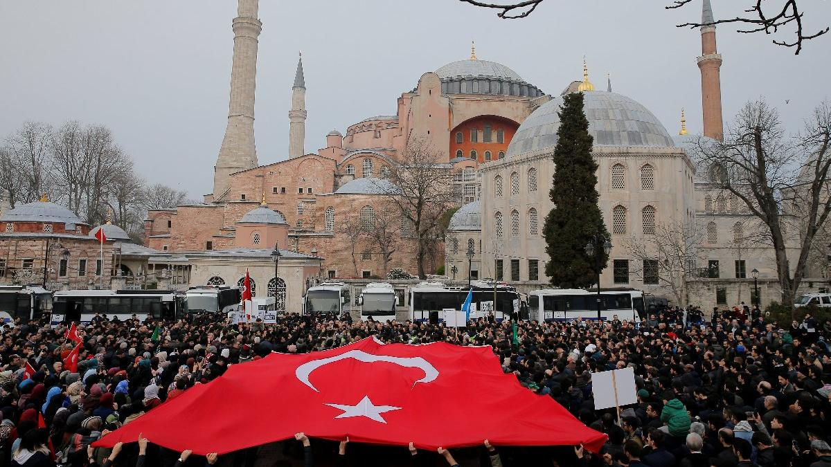 Erdoğan'ın Ayasofya yorumuna UNESCO'dan yanıt geldi