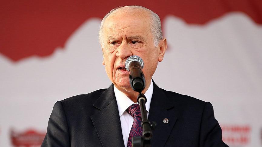 Bahçeli'den sert Millet İttifakı açıklaması! 'Milli güvenlik sorunudur'