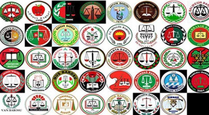 ÇHD ve HHB avukatları için verilen karara 39 Baro'dan ortak tepki