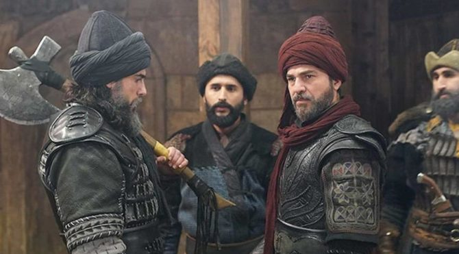 The resurrection is taking place at the final Ertugrul! Here