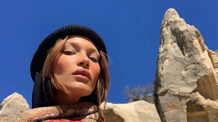 Bella Hadid Kapadokya'da