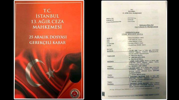 25 Aralık kumpas davası kitap oldu