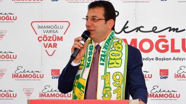 İmamoğlu: Erdoğan, Yıldırım'a da aynı şeyi soracak mı merak ediyorum