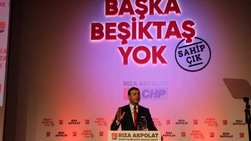 CHP'nin Beşiktaş Adayı Akpolat: 'Beşiktaş'ı hep beraber yöneteceğiz'