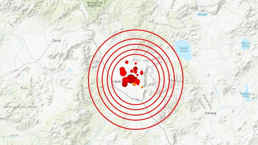 Yaşanan son depremler Denizli depreminin öncüsü mü?