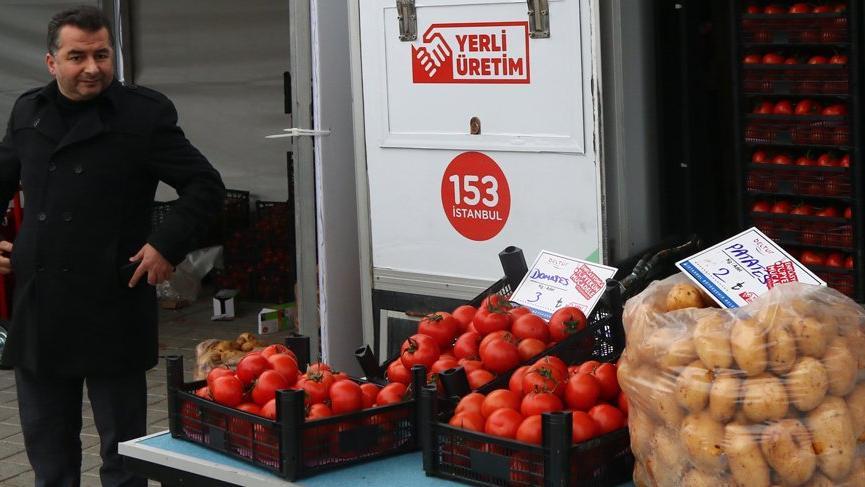 Şubatta fiyatı en fazla düşen gıda ürünü domates oldu
