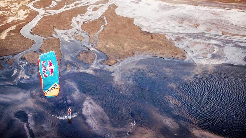 Red Bull Salt Rush Tuz Gölü'nü renklendirecek