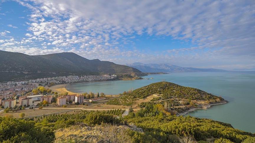 Türkiye'nin en büyük ikinci tatlı su gölü: Eğirdir Gölü