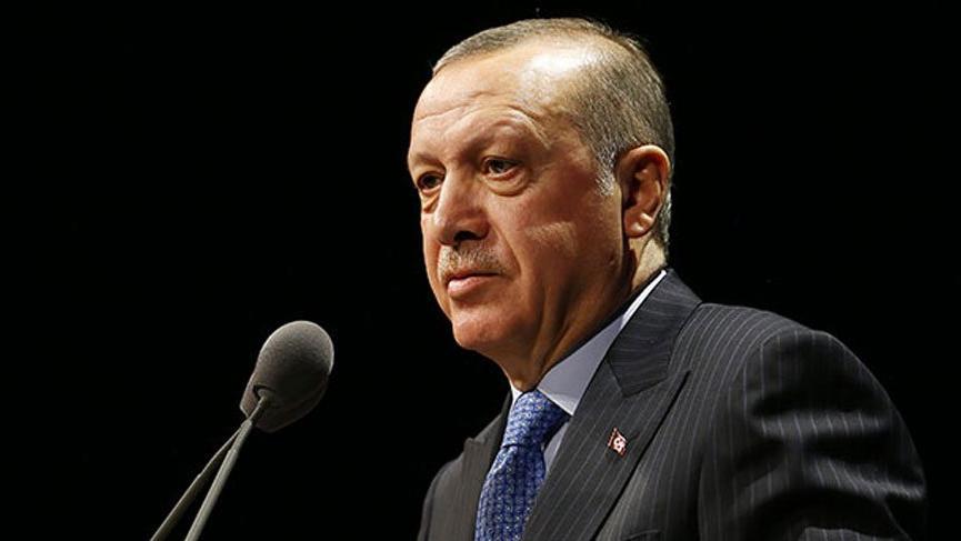 Erdoğan'dan '18 Mart' mesajı