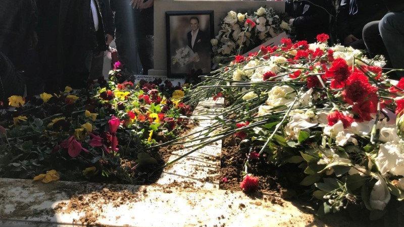 Ertuğrul Akbay'ın cenaze töreninden görüntüler
