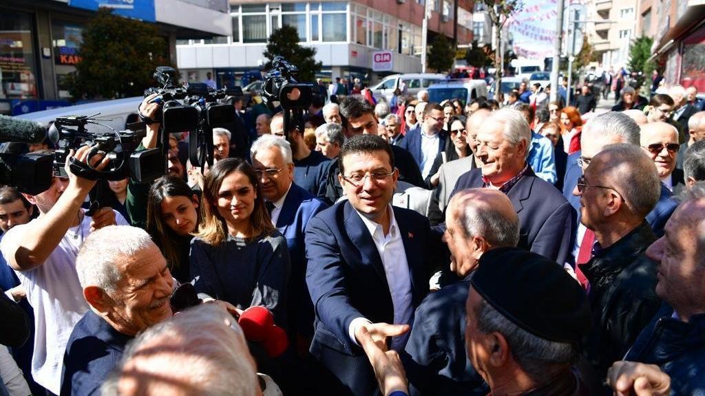 İmamoğlu: İstanbul'da büyük mitingimizi 16 milyon insanla yapacağız