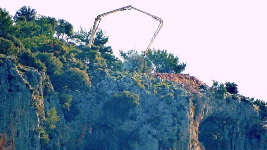 Göcek ve Dalaman koylarında kaçak inşaat iddiası
