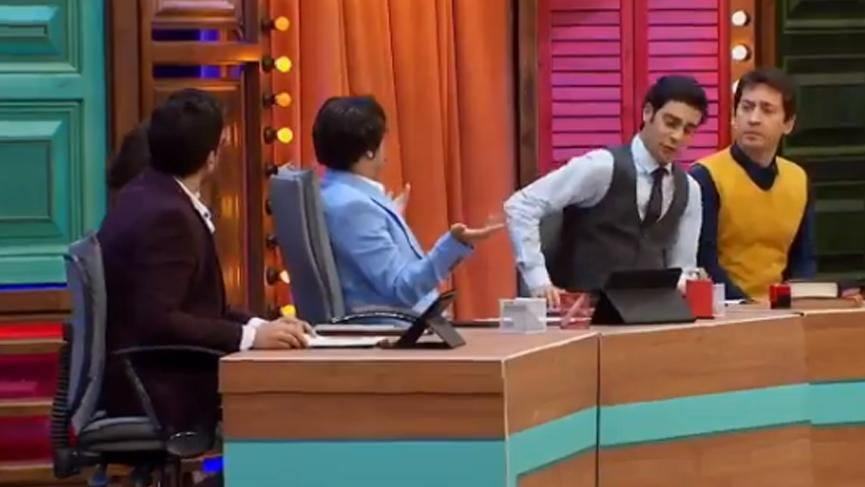 Güldür Güldür Show'da hükümet medyası ti'ye alındı!