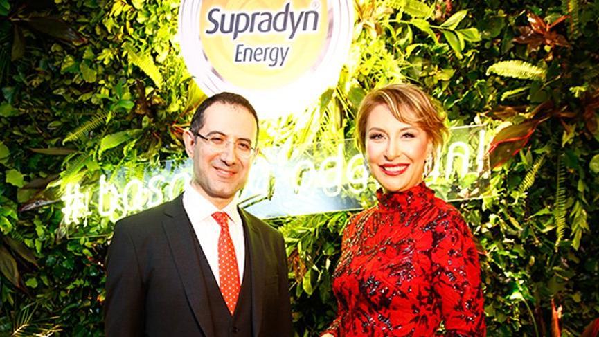 Gülse Birsel, Supradyn Energy Focus'un marka yüzü oldu