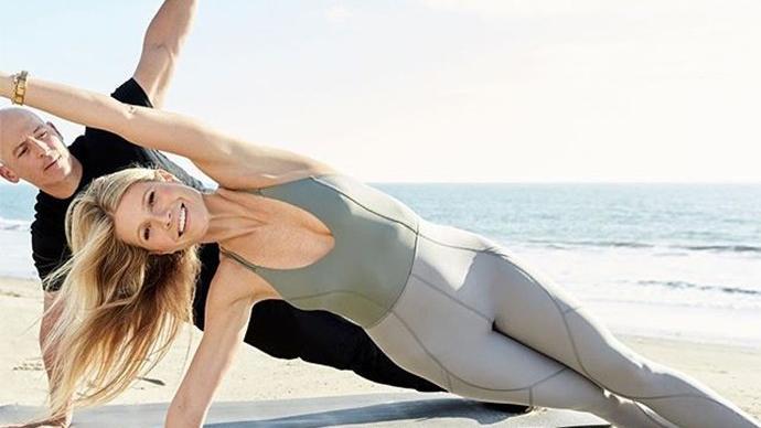 Ünlü Hollywood oyuncusu Gwyneth Paltrow'u böyle görmediniz