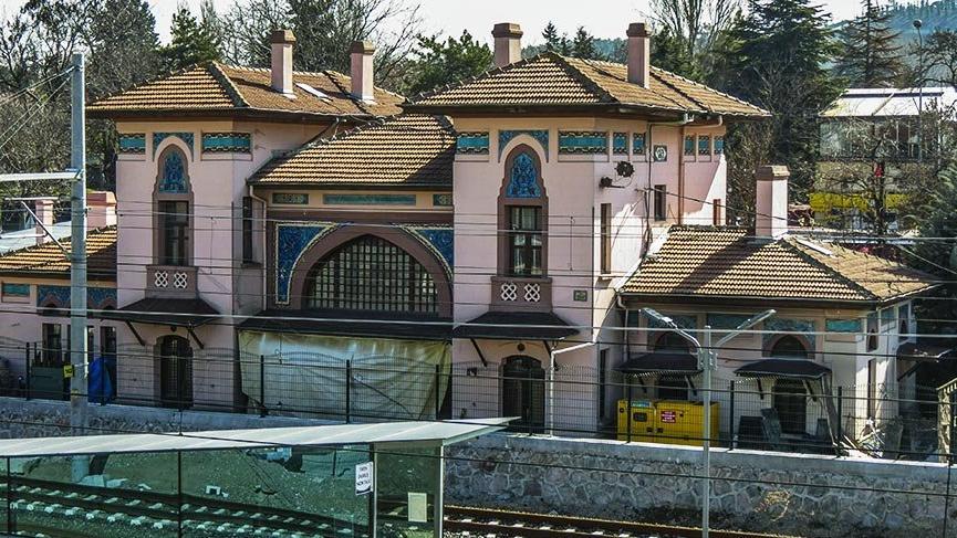 Cumhuriyet döneminin ilk tren istasyonu