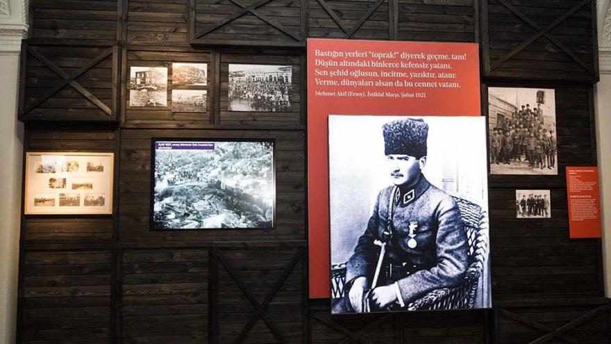 Milli Mücadele tarihi 'İstiklal' sergisinde