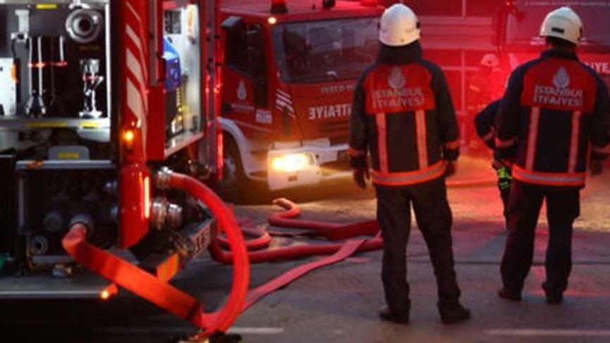 Kağıthane'de tekstil atölyesinde korkutan yangın! 6 kişi mahsur kaldı