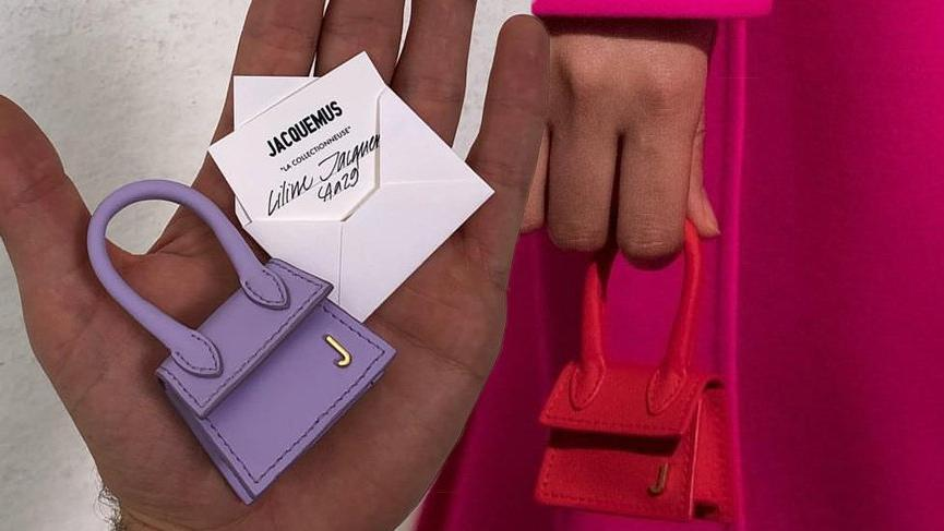 Jacquemus dünyanın en küçük çantasını tasarladı