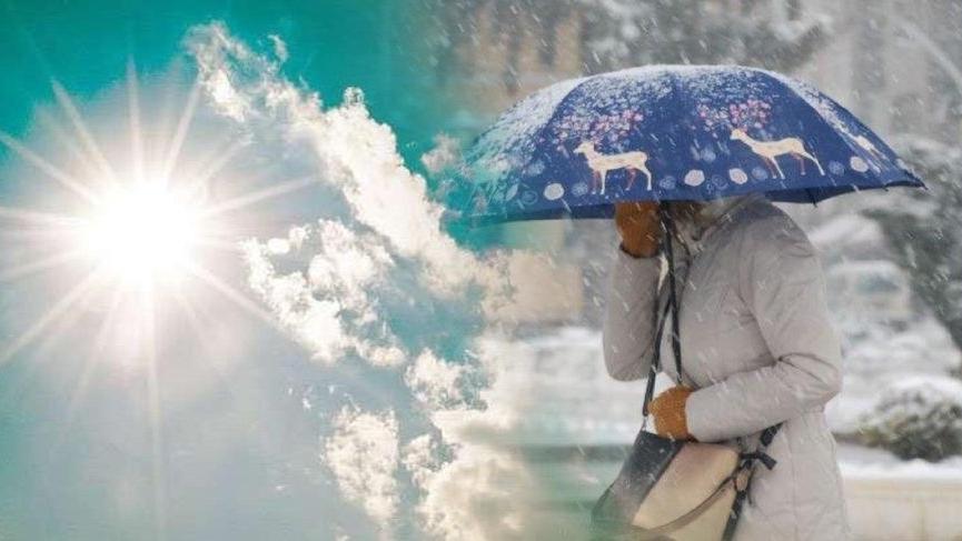 Uyarı geldi kuvvetli kar ve bahar havası bir arada… Meteoroloji'den son tahminler!