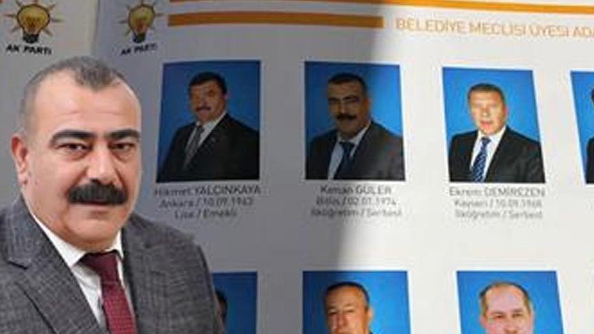 'CHP Listesindeki PKK'lı' dedikleri AKP adayı çıktı