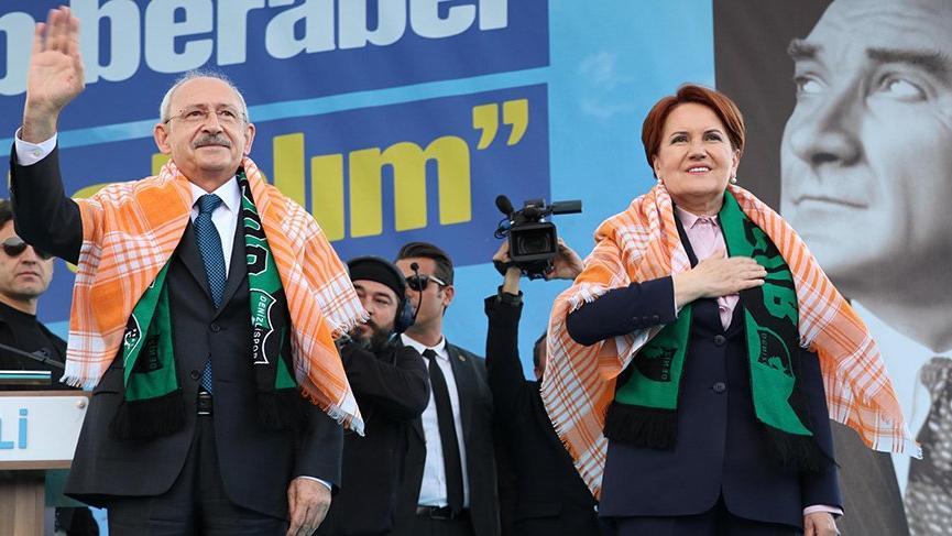 Son dakika... Kılıçdaroğlu ve Akşener ilk kez ortak miting yaptı
