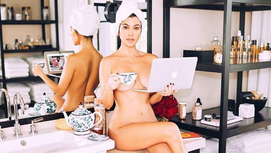 Kourtney Kardashian Poosh adını verdiği yeni projesini açıkladı
