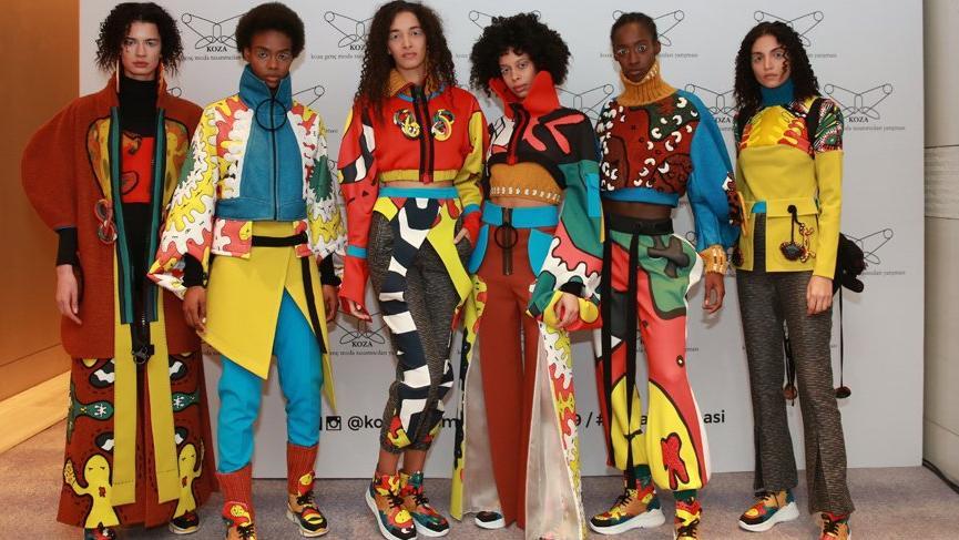 Koza Genç Moda Tasarımcıları Yarışması'nın kazananları belli oldu