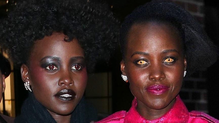 Lupita Nyong'o'un turuncu gözleri korkuttu!