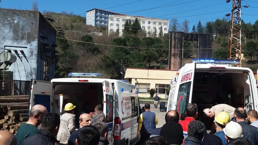 Maden ocağında göçük: 4 işçi yaralı